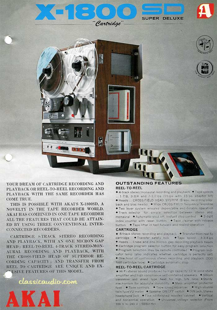 REEL to REEL + 8 track player