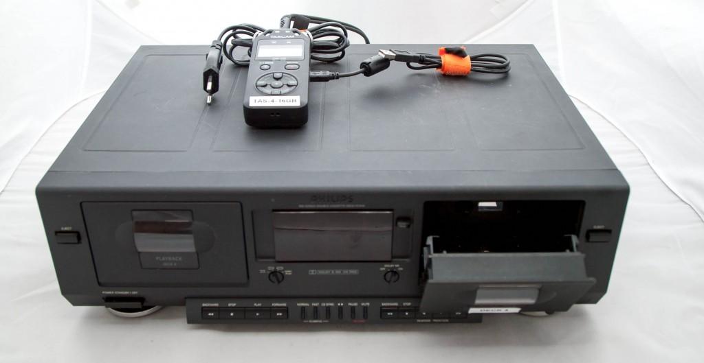 Philips DCC600 cassettedeck